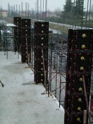 Пластиковая опалубка для квадратных, прямоугольных колонн и пилонов