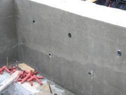 Пластиковая опалубка для стен и фундамента
