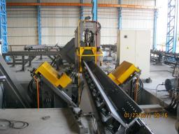 Производственная линия углов для сверления, маркировки и резки