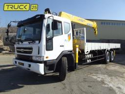 Daewoo Ultra Novus 2012г. 11,5 тонн с КМУ Soosan SCS736L II 6 тонн и люлькой!