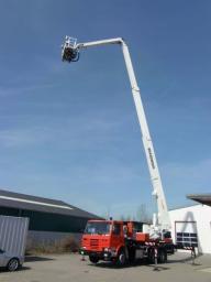 Аренда автовышек для проведения высотных работ от 14 до 28 метров.