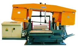 TBS SERIES CNC ROTATION ANGLE BAND SAWING MACHINE TBS серии CNC угла вращения ленточнопильный станок