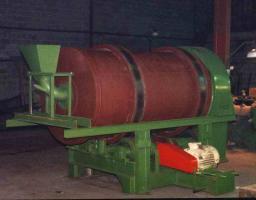Мельница шаровая МШМП-12 мокр. помола V=1 м³