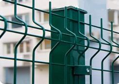 Ограждение газонное панельное (забор) FENSYS-CITY, с монтажом, м п.