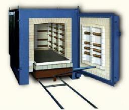 Электропечь камерная ПКО-1,2-100, t max.1200, для обжига керамики, фаянса,