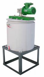 Смеситель пропеллерный низкооборот. 1-6 м³