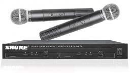 микрофон SHURE LX88-II радиосистема 2 микрофона SHURE SM58