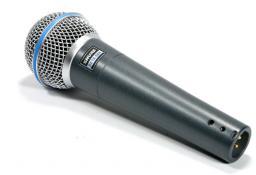 МИКРОФОН SHURE BETA58A вокальный.новый