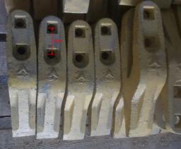 Зубья на ковш погрузчика LG953 (LG956)