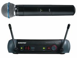 Микрофон SHURE PGX24/BETA58A проф. радиосистема (ОРИГИНАЛ!) магазин.