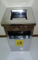 Урна-пепельница квадратная УК-1 (300х600)