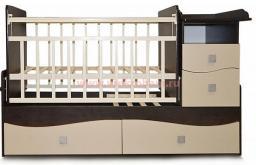 Детская кроватка трансформер Bambu Allegra