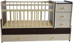 Детская кроватка-трансформер Briciola маятник