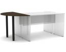 Офисная мебель «Профидизайн» - С опорами сектор на 2 стола