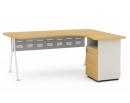 Офисная мебель «Креатив» - Стол с тумбой правый