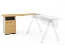 Офисная мебель «Креатив» - Тумба с крылом левая