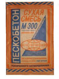 Пескобетон М 200,300,400 Сухие строительные смеси