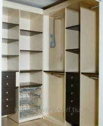 Шкафы для гардеробной комнаты №2F