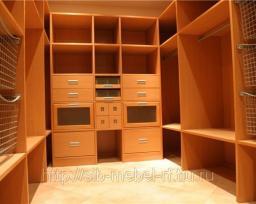 Шкафы для гардеробной комнаты №3