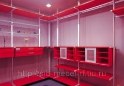 Шкафы для гардеробной комнаты №11