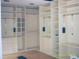 Шкафы для гардеробной комнаты №13