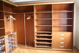 Шкафы для гардеробной комнаты №15