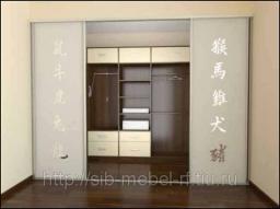 Шкафы для гардеробной комнаты №17