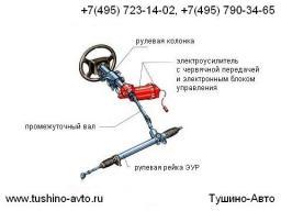 Ремонт рулевой рейки электроусилителя руля, ЭУР, Ремонтная зона Тушино-Авто