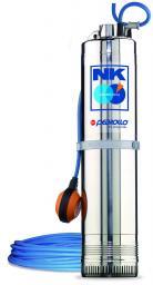 NKm 2/ 4-GE - Многоступенчатый насос для колодцев (однофазный)