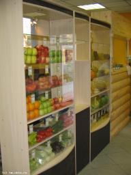 Витринный блок для фруктов и овощей