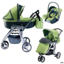 Детская коляска 3 в 1 Neonato Reverso Sport Tris (Неонато Реверсо Спорт Трис)