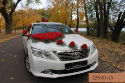 Прокат автомобилей на свадьбу Toyota Camry 2014 г.в.