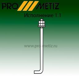 Фундаментный болт цена 65 руб\кг 1.1 М16х710 09г2с ГОСТ 24379.1-80 От Производителя! Доставка Бесплатно.