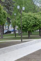 Опора декоративная парковая КО
