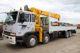 Услуги самогрузов от 3 до 25 тонн, стрелы от 3 до 15 тонн