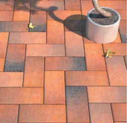 Клинкерная тротуарная брусчатка