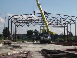 Изготовление и монтаж металлоконструкций в Новосибирске