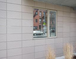 Фасадный материаль для облицовки коттеджа. Фасадная терракота. Керамические фасады.