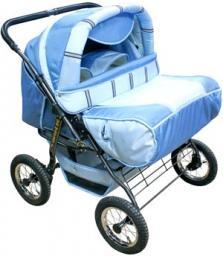 Детская коляска Migalski близнец на шинах