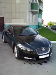 Встреча в аэропорту Jaguar XF