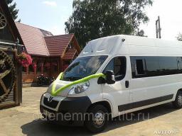 Арендовать микроавтобус с водителем