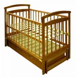 Детская кроватка ЛКМ Лиза Н8-6/1 пм