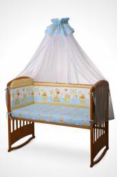 Детский комплект постельно белья Ева 4 х предметный