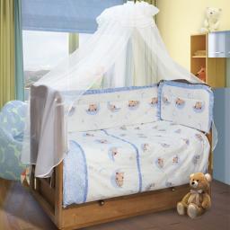 Детский комплект постельного белья Soni Kids Мишки-Лунишки