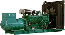 Электростанция Cummins Модель C1675D5 Двигатель KTA50G8