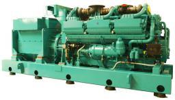 Электростанция Cummins Модель C2750D5 Двигатель QSK78G9