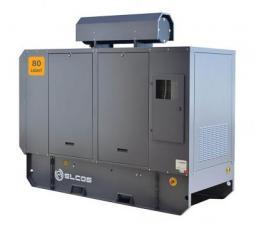 Электростанция дизельная серии Light ELCOS GE.PK.088\080.LT Двигатель Perkins 1104A-44TG2
