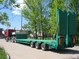 грузоперевозки до 60 тонн Крым, Севастополь. Аренда трала