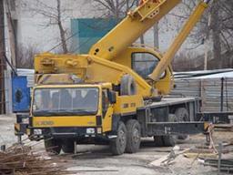 автокран услуги Крым, Севастополь