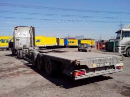 Тонар полуприцеп - контейнеровоз 2008г резина 85%, дисковые тормоза